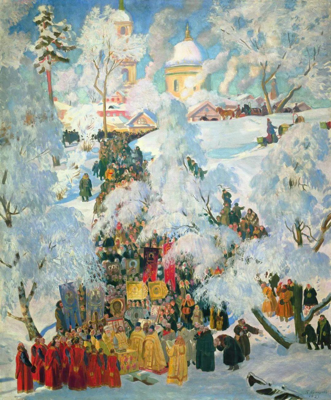 明快鲜亮的色彩,描绘俄罗斯乡村日常生活!插图113
