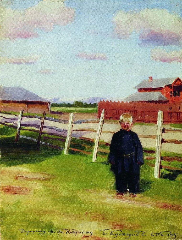 明快鲜亮的色彩,描绘俄罗斯乡村日常生活!插图117