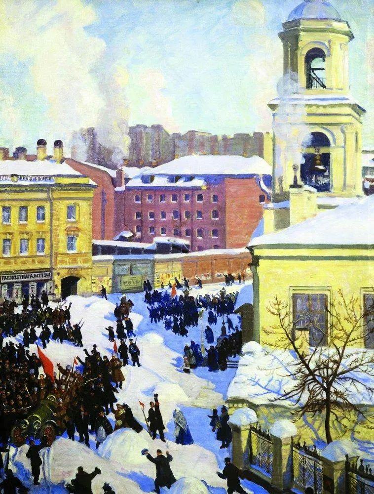 明快鲜亮的色彩,描绘俄罗斯乡村日常生活!插图119
