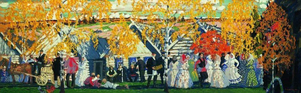 明快鲜亮的色彩,描绘俄罗斯乡村日常生活!插图123