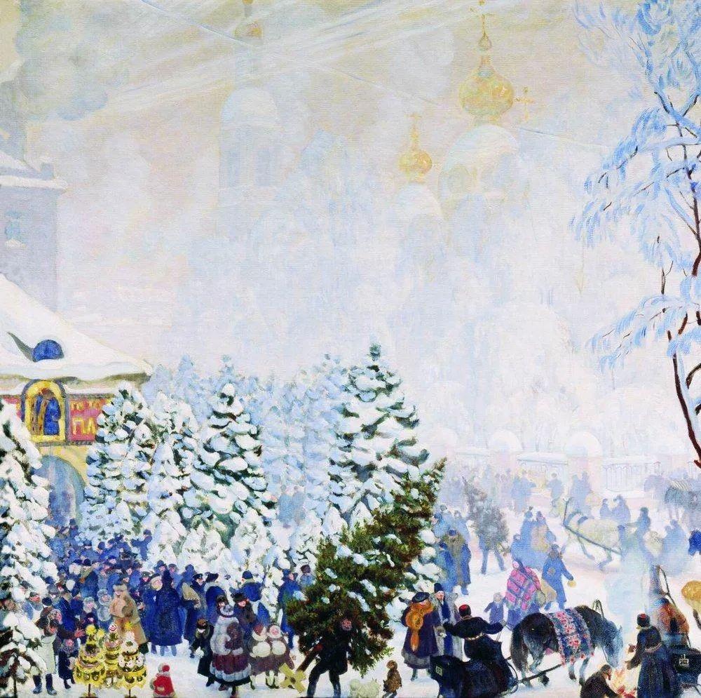明快鲜亮的色彩,描绘俄罗斯乡村日常生活!插图125