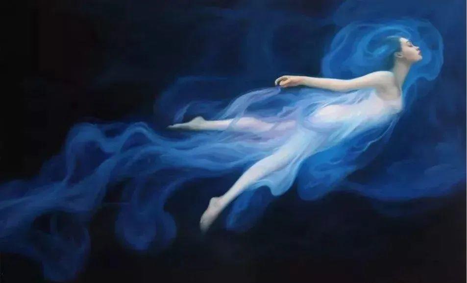 如梦如幻的画中仙子,艺术家多里安·瓦莱霍的人体油画艺术插图3