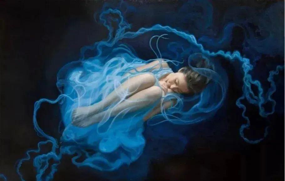 如梦如幻的画中仙子,艺术家多里安·瓦莱霍的人体油画艺术插图5