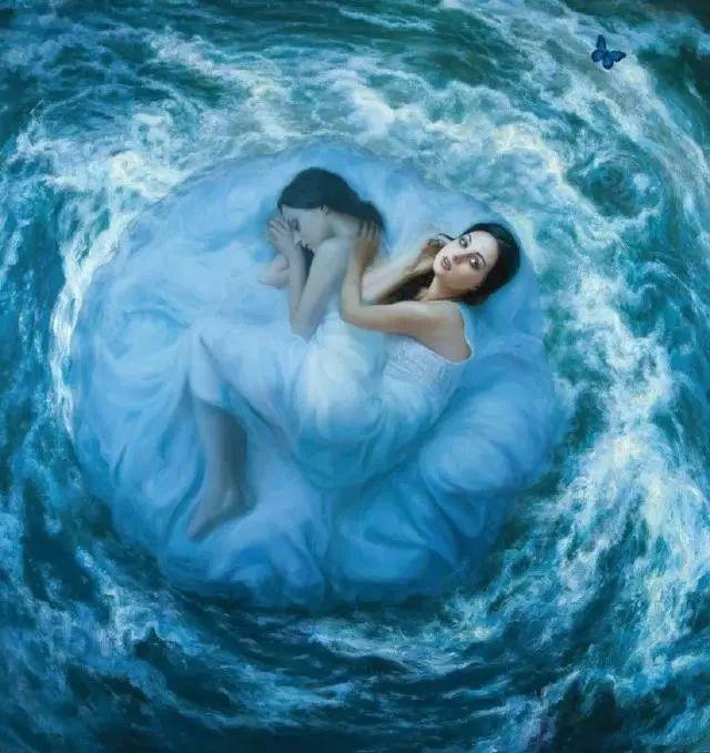 如梦如幻的画中仙子,艺术家多里安·瓦莱霍的人体油画艺术插图7