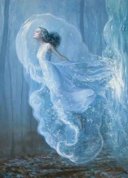 如梦如幻的画中仙子,艺术家多里安·瓦莱霍的人体油画艺术插图11