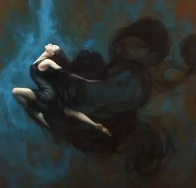 如梦如幻的画中仙子,艺术家多里安·瓦莱霍的人体油画艺术插图13
