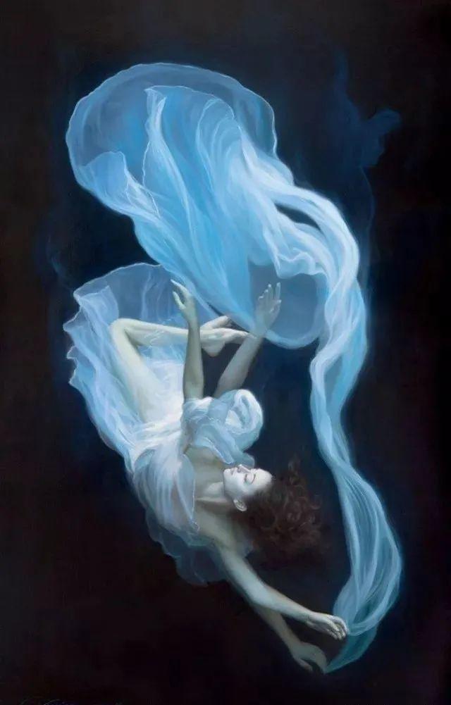 如梦如幻的画中仙子,艺术家多里安·瓦莱霍的人体油画艺术插图15