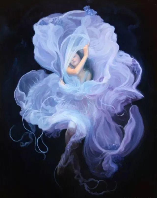 如梦如幻的画中仙子,艺术家多里安·瓦莱霍的人体油画艺术插图17
