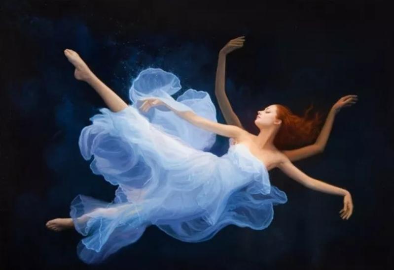 如梦如幻的画中仙子,艺术家多里安·瓦莱霍的人体油画艺术插图23