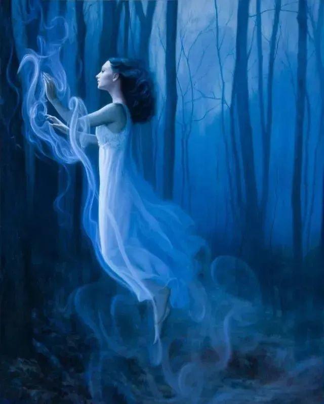 如梦如幻的画中仙子,艺术家多里安·瓦莱霍的人体油画艺术插图25