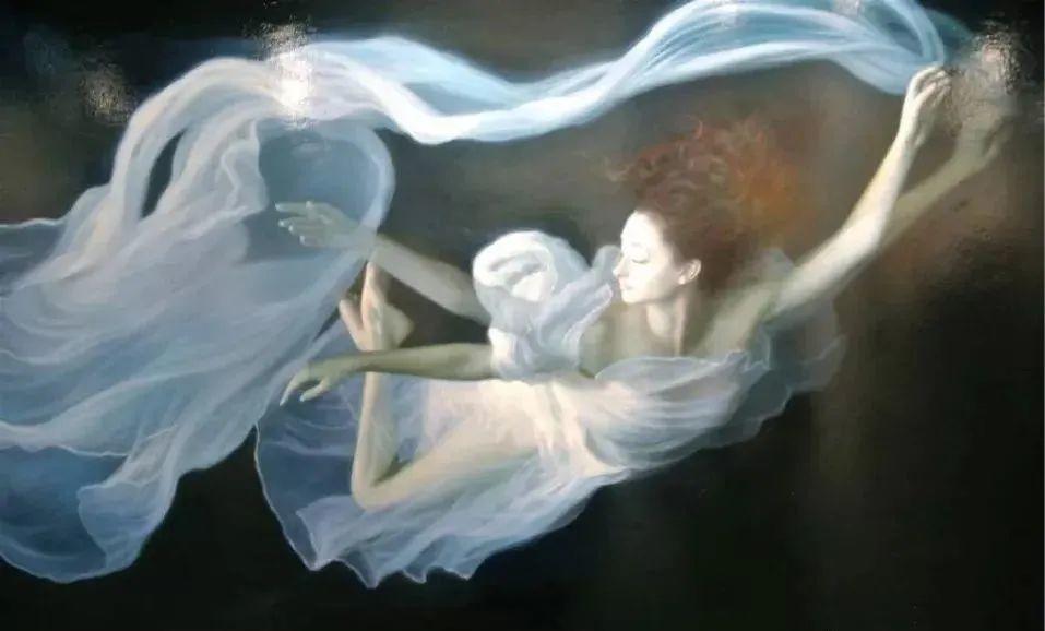 如梦如幻的画中仙子,艺术家多里安·瓦莱霍的人体油画艺术插图29