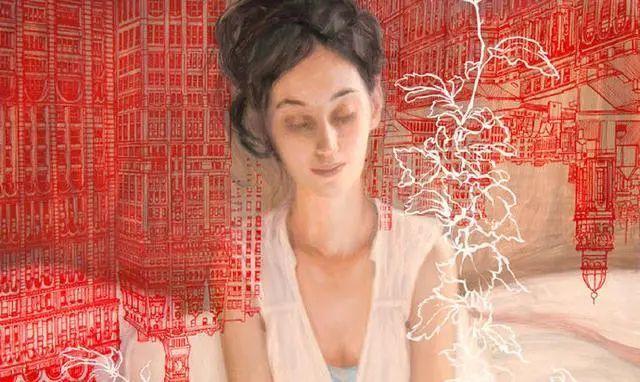 如梦如幻的画中仙子,艺术家多里安·瓦莱霍的人体油画艺术插图35