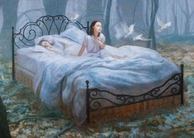 如梦如幻的画中仙子,艺术家多里安·瓦莱霍的人体油画艺术插图37