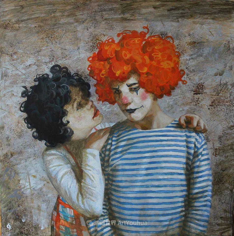 古典风格蛋彩画,俄罗斯画家弗拉基米尔·亚历山德罗维奇插图31