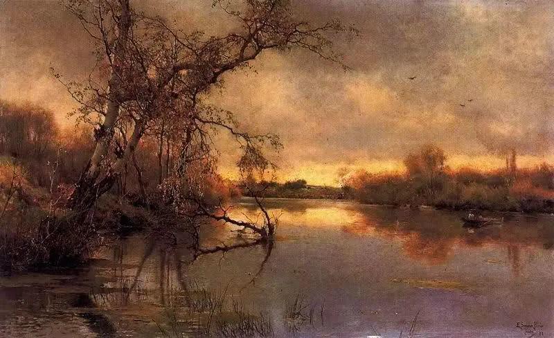匈牙利杰出的自然风景画家——贝拉·斯潘依插图59