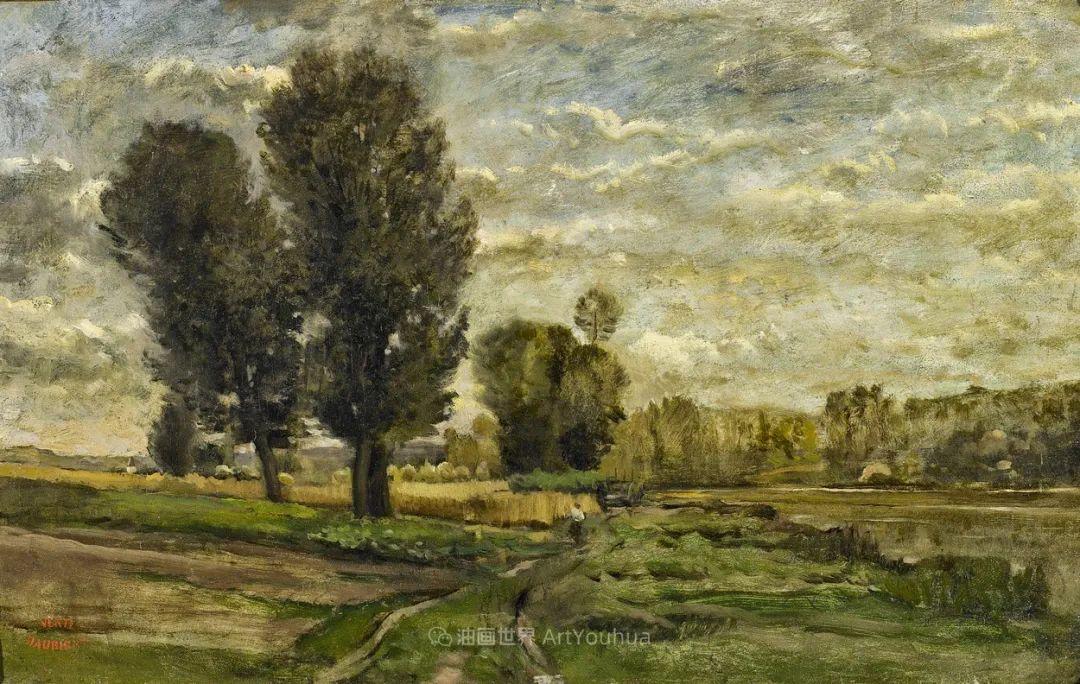 法国著名巴比松派风景画家——杜比尼插图85