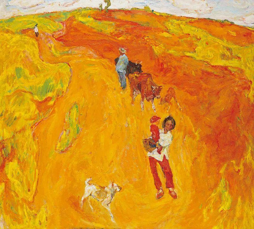 浓烈、明亮、斑斓、恣肆的色彩,这油画美极了插图25