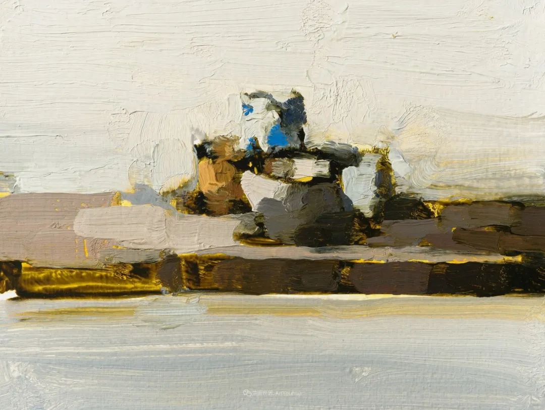 简约宁静 | 波兰画家斯坦利·比伦作品欣赏插图49