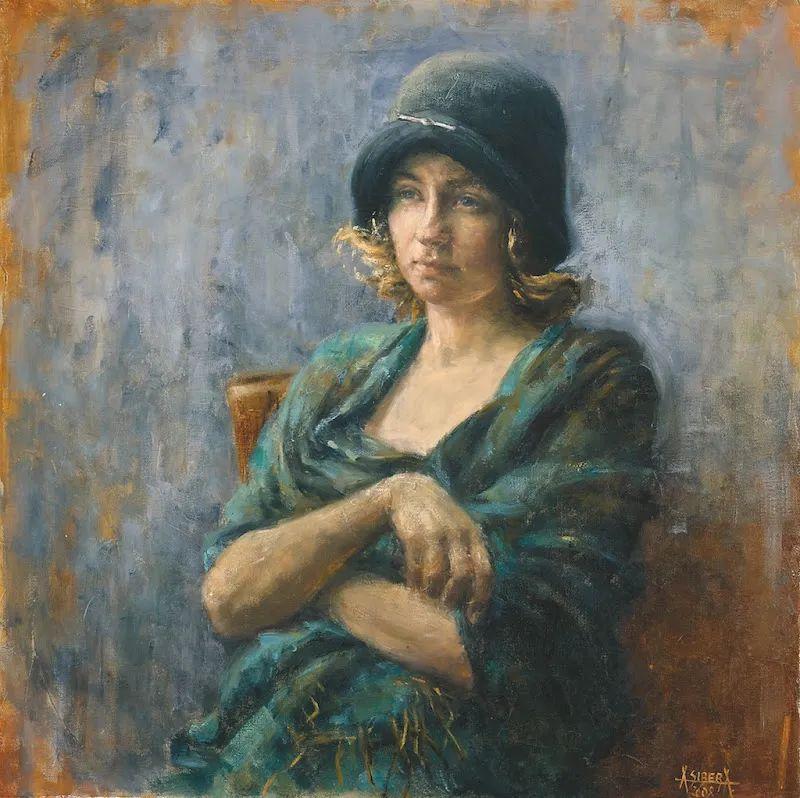 具象现实主义,波兰女画家阿丽娜·西贝拉插图5