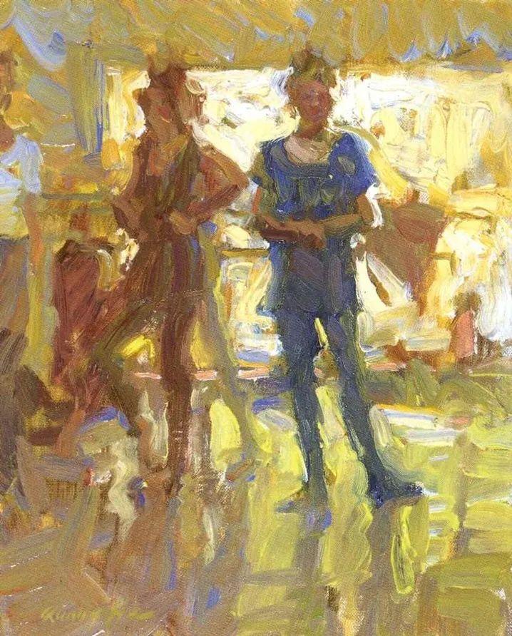 一个来自东方的画家,把印象派绘画掌握和提高到,如此至善至美的境界!插图57