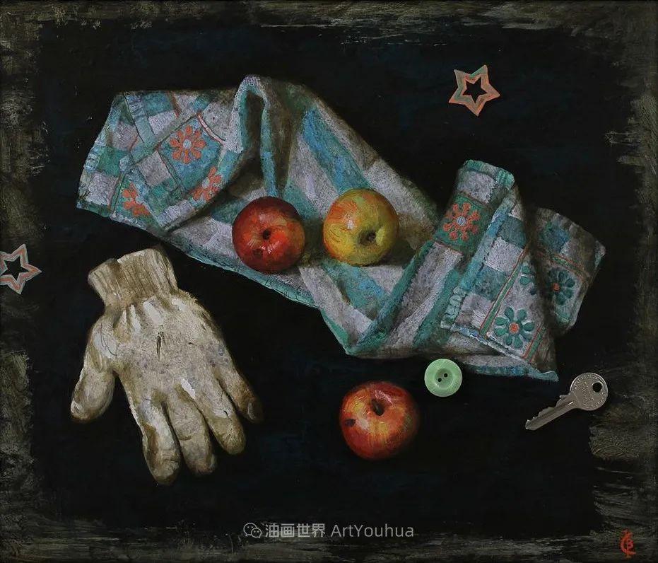 古典风格蛋彩画,俄罗斯画家弗拉基米尔·亚历山德罗维奇插图29