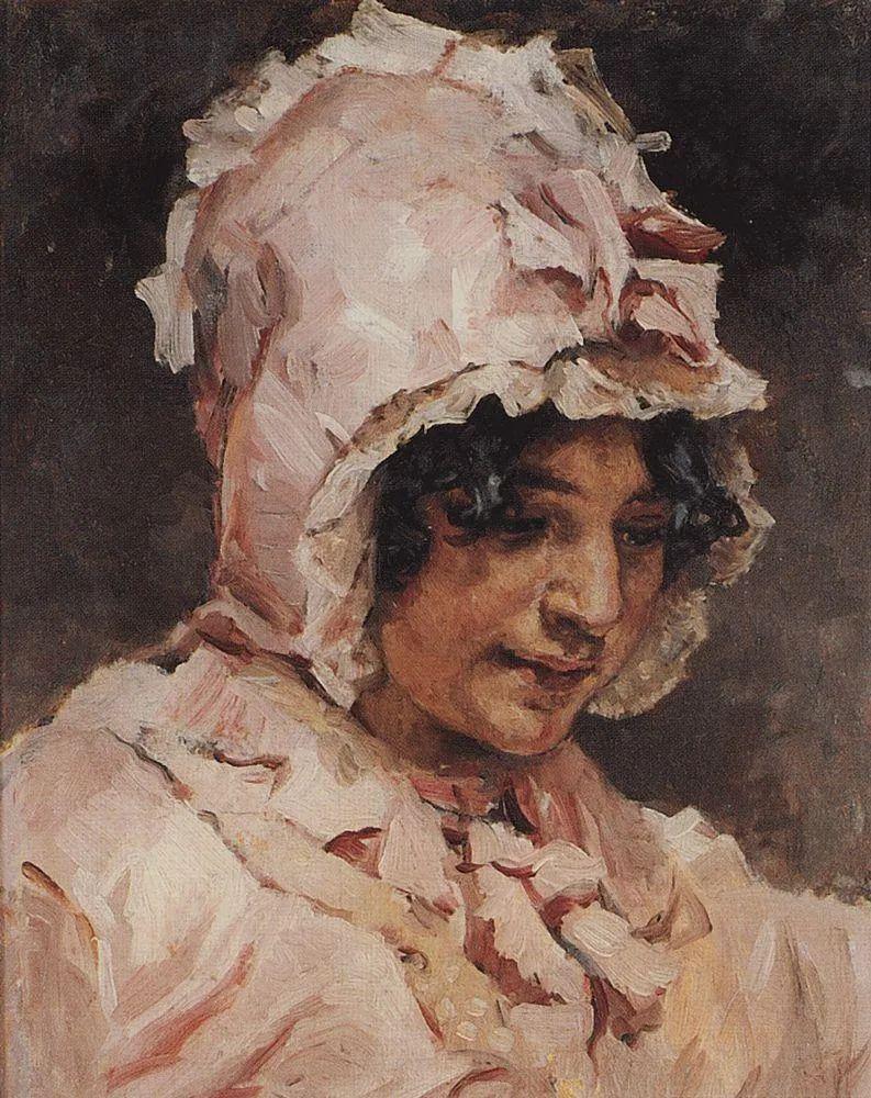 俄罗斯画坛先驱人物,瓦西里·苏里科夫人物作品选粹插图27