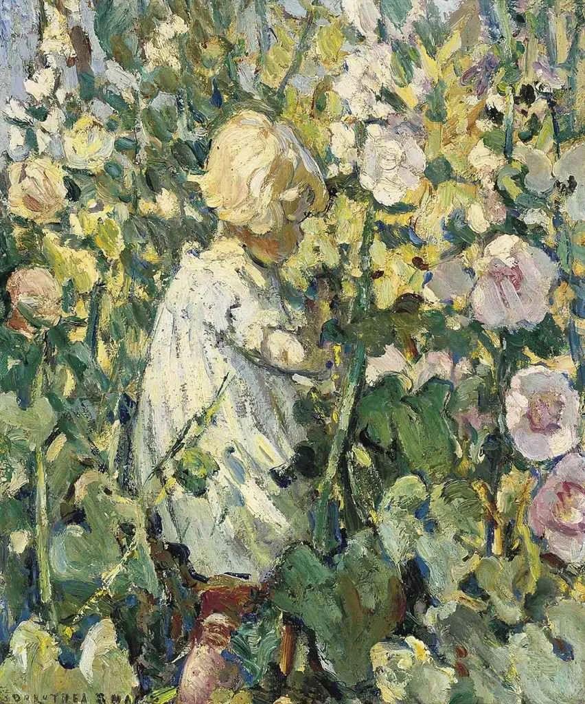 充满着写意风格的绘画,20世纪英国最伟大的女画家之一夏普插图11