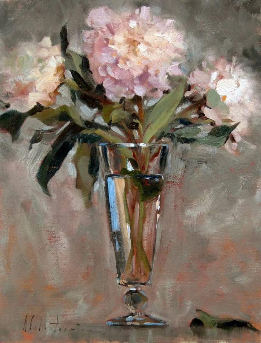 自学油画,她用真情描绘着周围的世界之美插图34