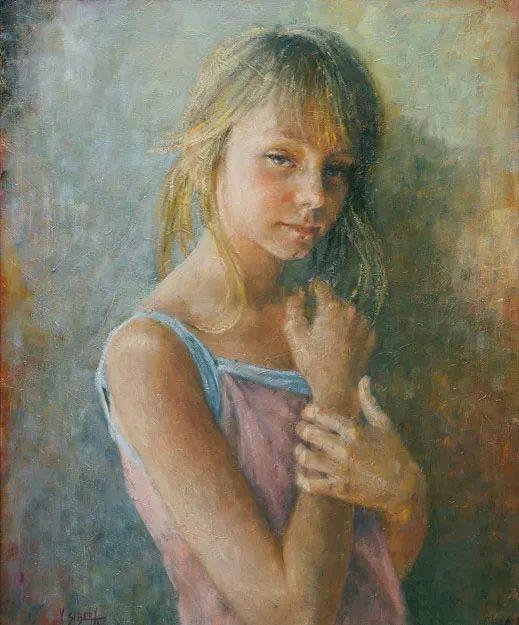 具象现实主义,波兰女画家阿丽娜·西贝拉插图79