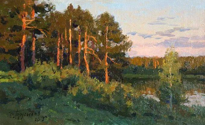 """岁月静好,俄罗斯"""" 小希施金 """" 的自然风景油画,美极了!插图83"""