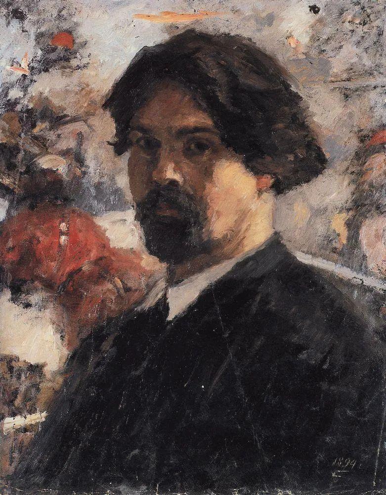 俄罗斯画坛先驱人物,瓦西里·苏里科夫人物作品选粹插图