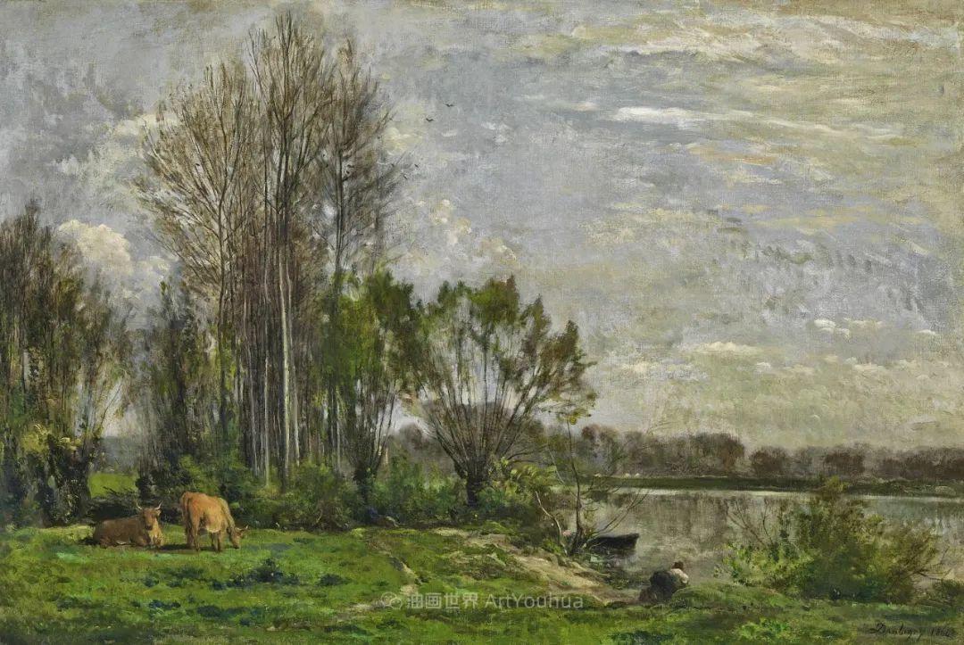 法国著名巴比松派风景画家——杜比尼插图147