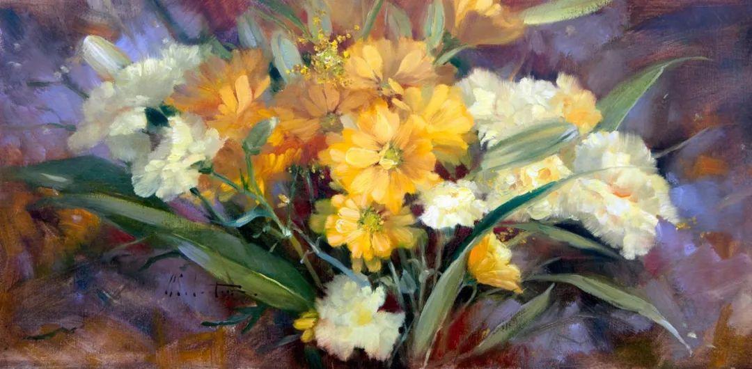 自学油画,她用真情描绘着周围的世界之美插图9