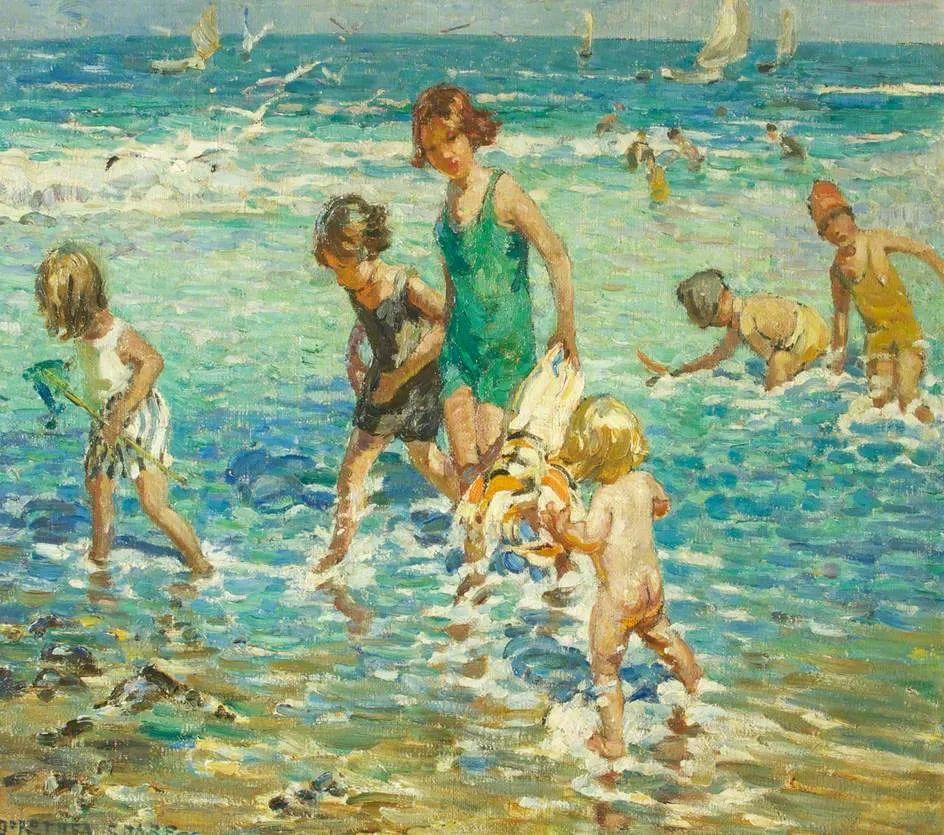 充满着写意风格的绘画,20世纪英国最伟大的女画家之一夏普插图21