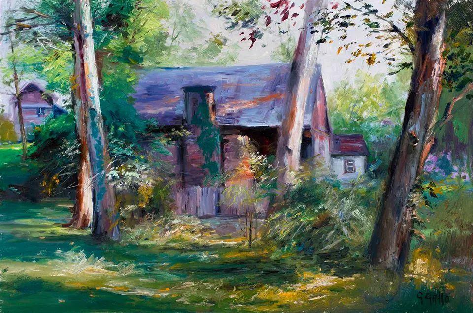 风景油画丨美国艺术家乔治·加洛的风景油画作品插图3