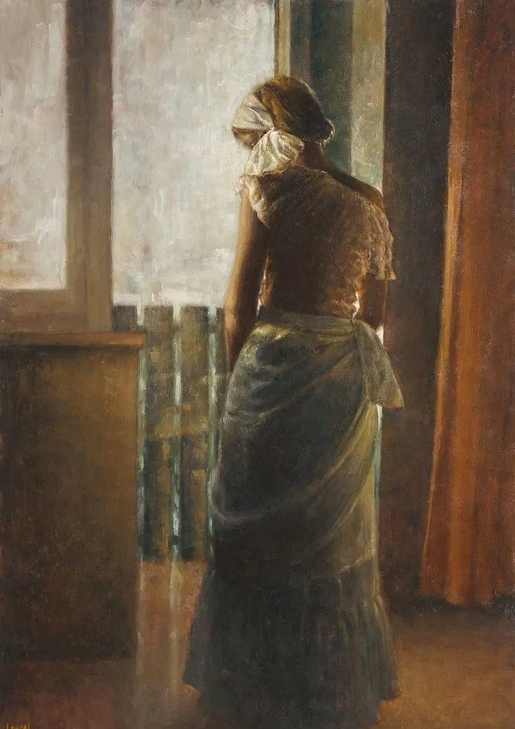 具象现实主义,波兰女画家阿丽娜·西贝拉插图33