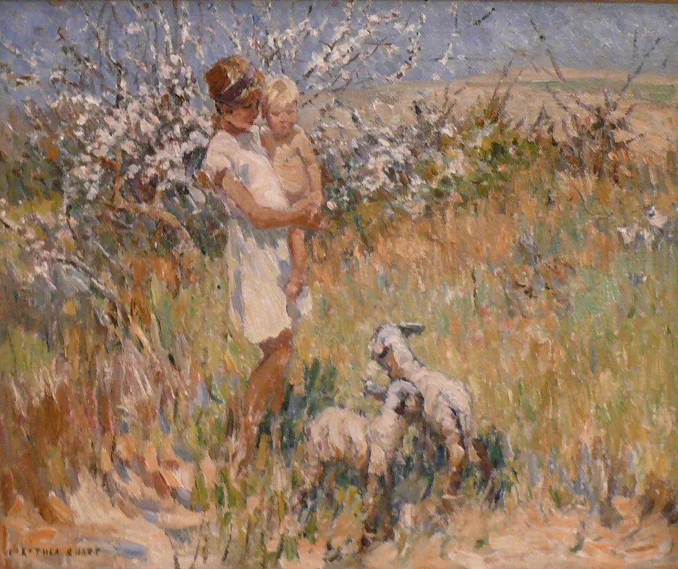 充满着写意风格的绘画,20世纪英国最伟大的女画家之一夏普插图51