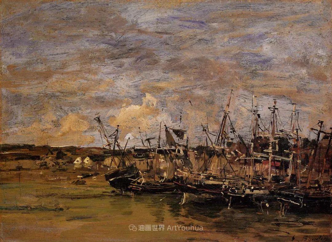 法国最早印象派画家欧仁·布丹,曾教莫奈写生!插图36