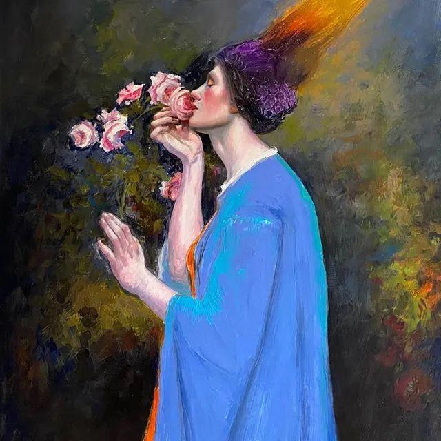 秘鲁自学成才艺术家的写实油画,展现着油画人物不同的美插图7