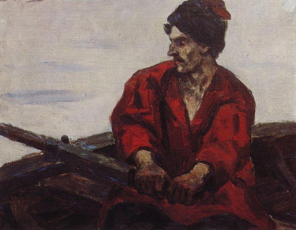 俄罗斯画坛先驱人物,瓦西里·苏里科夫人物作品选粹插图32