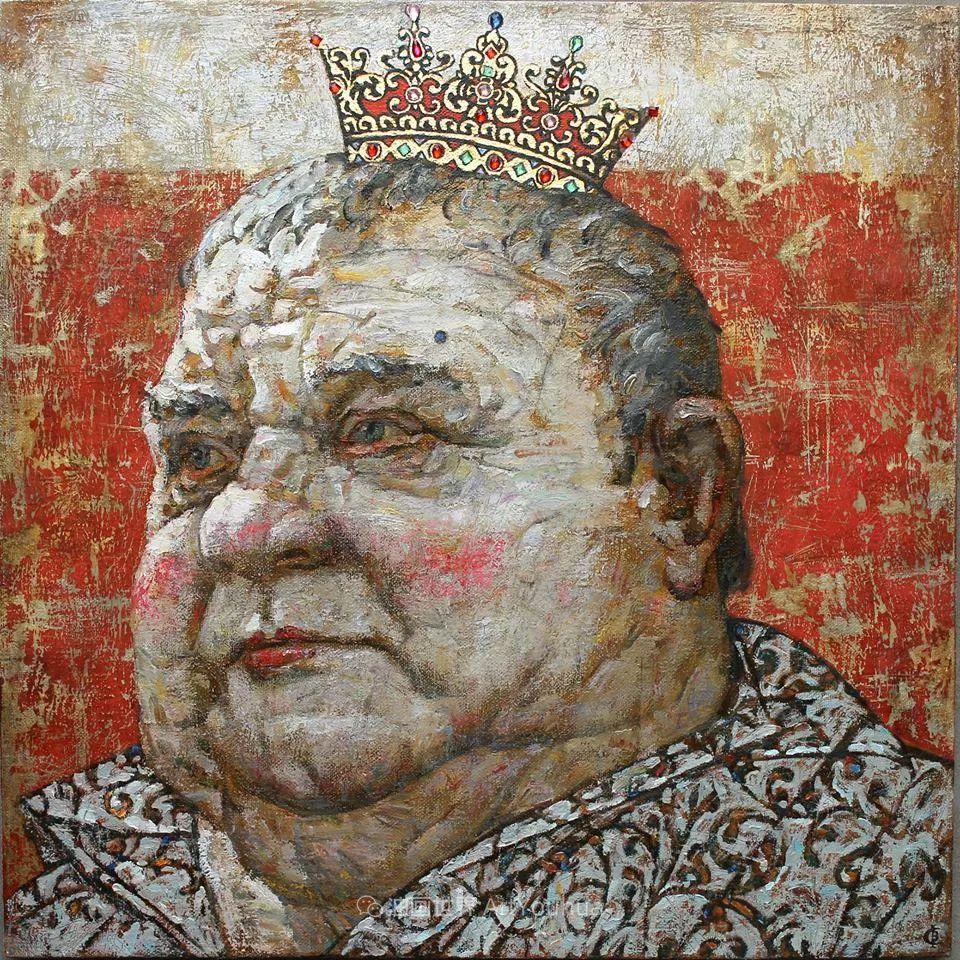 古典风格蛋彩画,俄罗斯画家弗拉基米尔·亚历山德罗维奇插图43