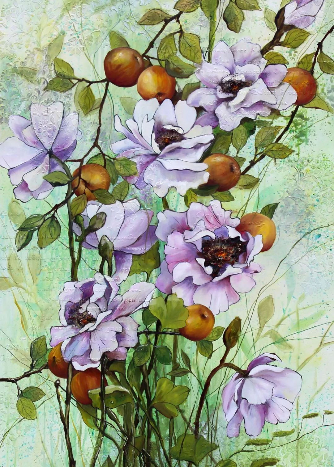艺术家安娜的精美油画艺术作品欣赏插图45