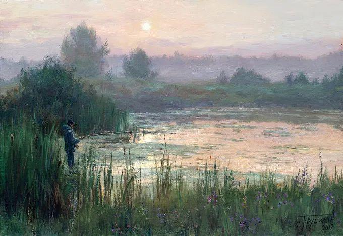 """岁月静好,俄罗斯"""" 小希施金 """" 的自然风景油画,美极了!插图3"""