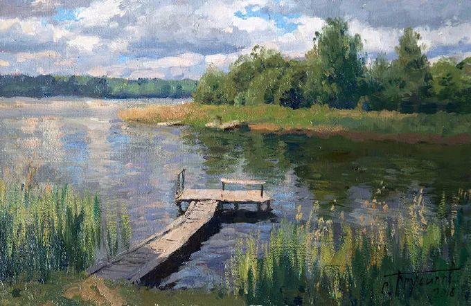 """岁月静好,俄罗斯"""" 小希施金 """" 的自然风景油画,美极了!插图95"""