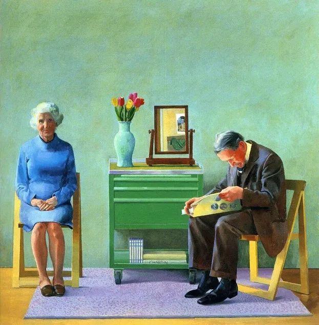 最著名的英国在世画家——大卫·霍克尼插图15
