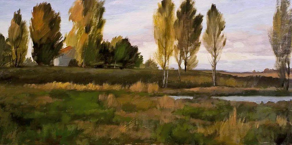 笔触率性,优雅朦胧的风景油画,迷人!插图85