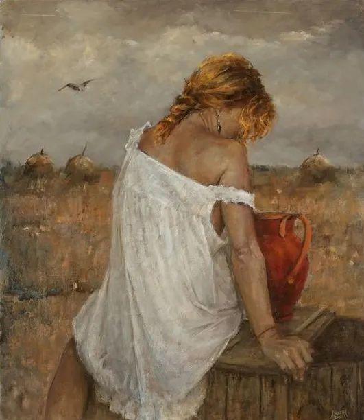具象现实主义,波兰女画家阿丽娜·西贝拉插图41