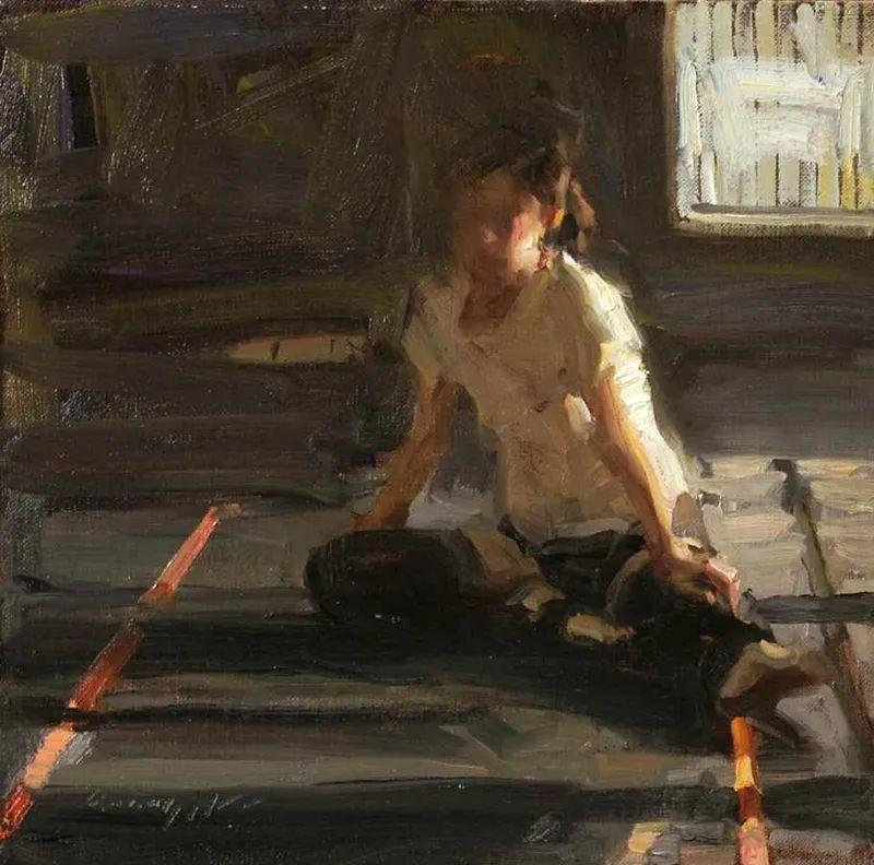 一个来自东方的画家,把印象派绘画掌握和提高到,如此至善至美的境界!插图69