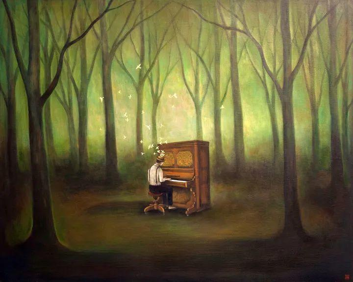 越南画家杜伊·怀恩的空灵绘画插图59