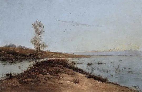 匈牙利杰出的自然风景画家——贝拉·斯潘依插图63